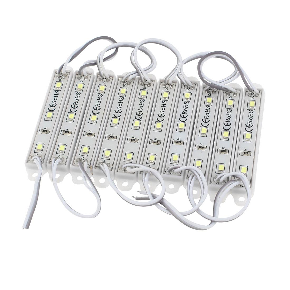 Waterproof White 2835 SMD 30 LED Module Light Lamp Strip Decration