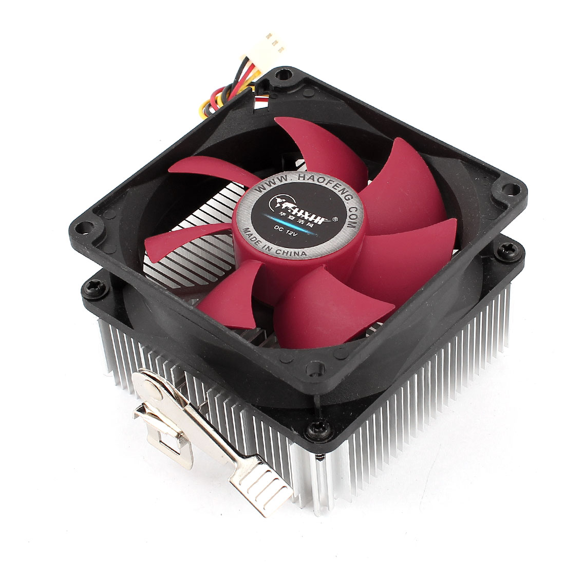 DC 12V 0.15A 3Pin Connector PC CPU Cooler Cooling Fan Heatsink for AMD Phenom X4