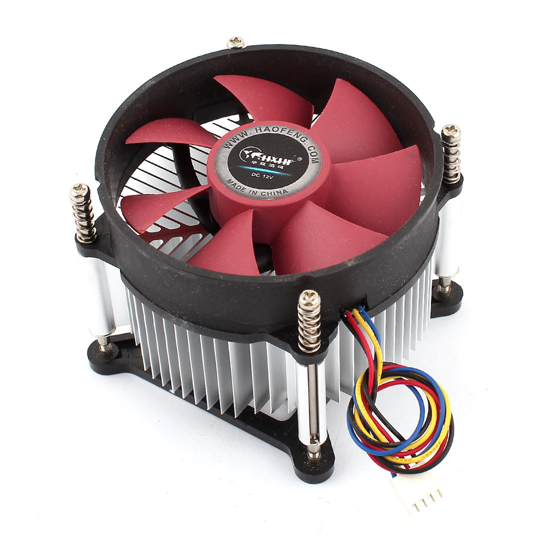 DC 12V 4Pins PC CPU Cooling Fan Heatsink for LGA 1155/1156 Intel Core i3/i5/i7