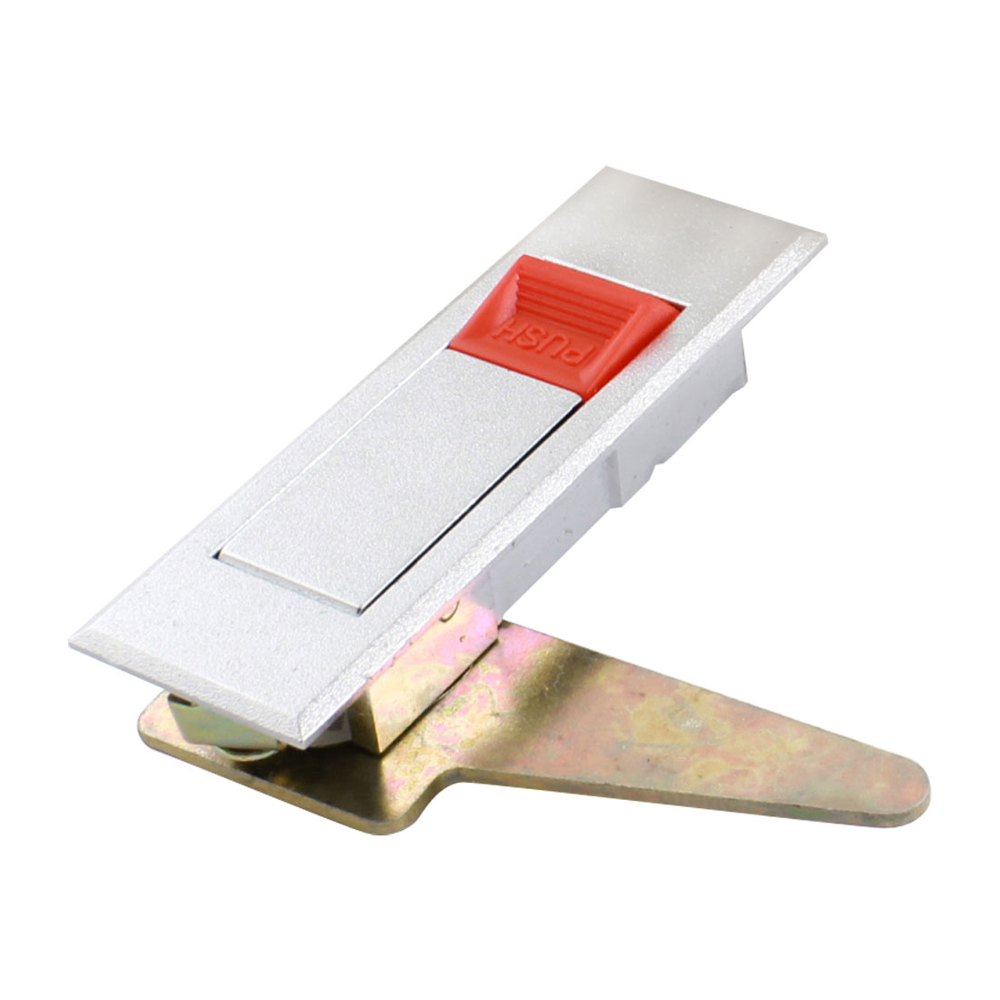 80mmx22mm Mounting Hole Metal Rectangle 45 Degree Pop-up Plane Lock for Electric Box Door Cabinet