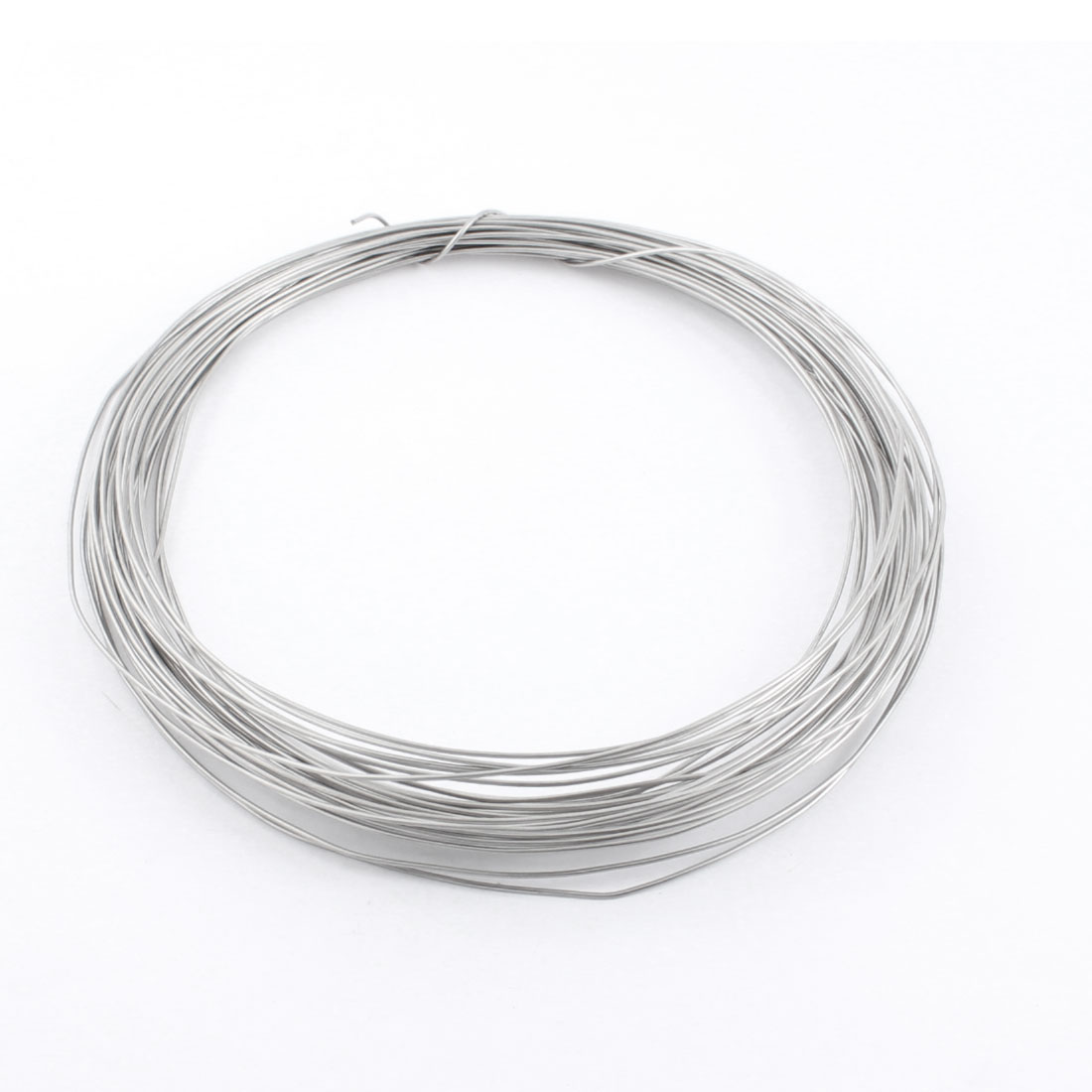 15M 50ft Length 1.2mm Diameter AWG17 Gauge Nichrome Resistance Heating Coils Resistor Wire Cable