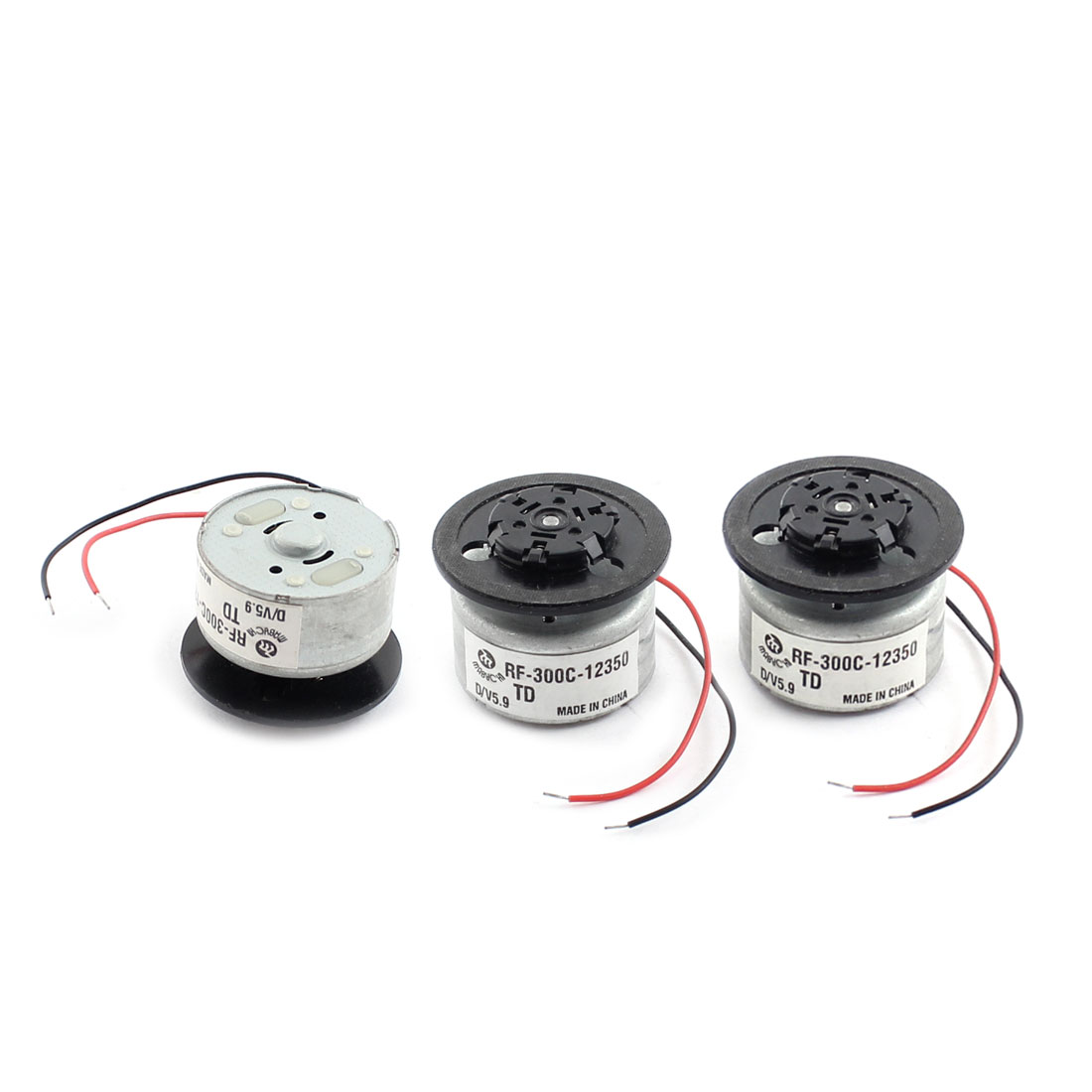 RC Helicopter Aircraft Metal Shell Micro Motor DC 5.9V 8000RPM 25mmx12mm 3 Pcs