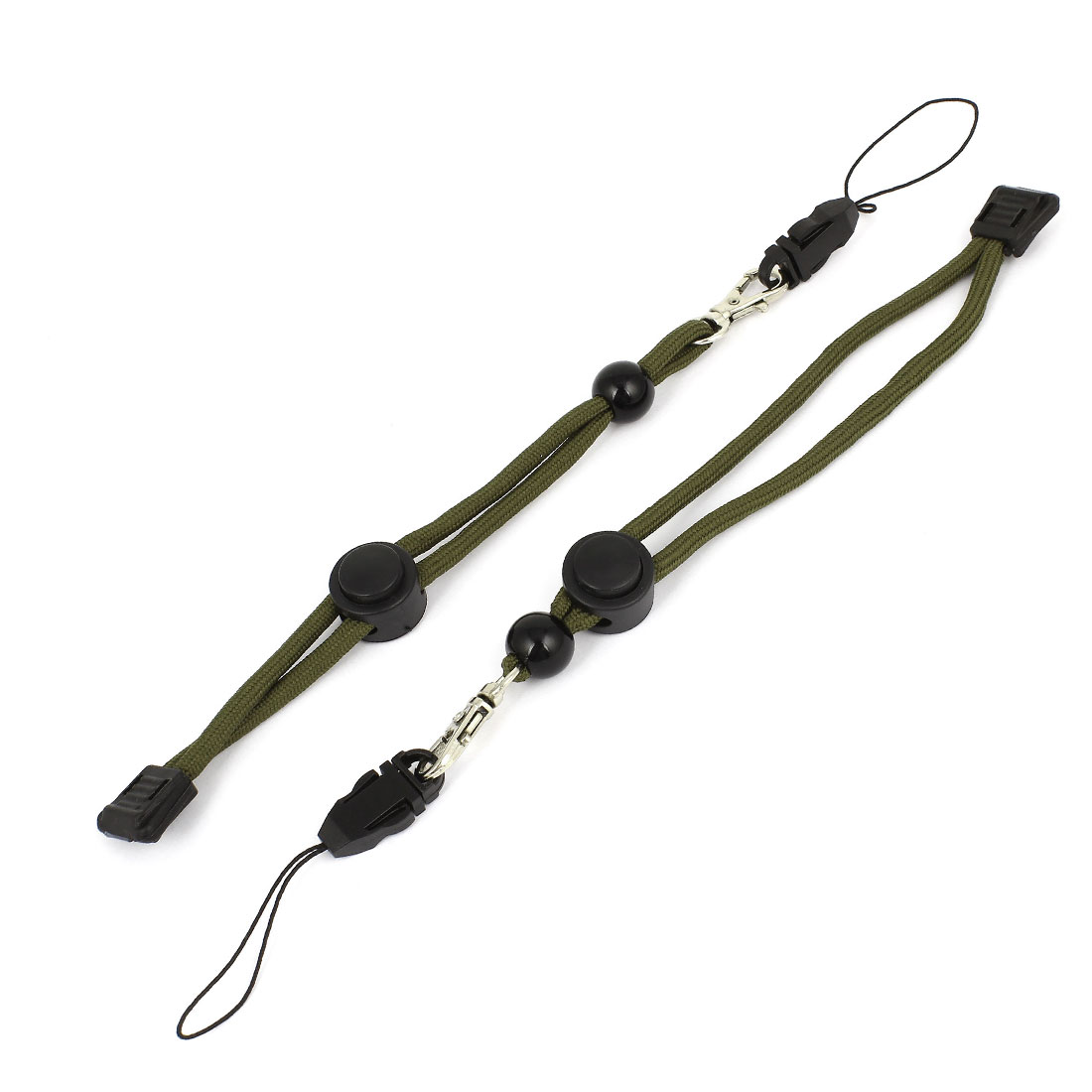 Outdoor Torch Flashlight Safety Carrying Nylon Strap Rope Lanyard 2 Pcs