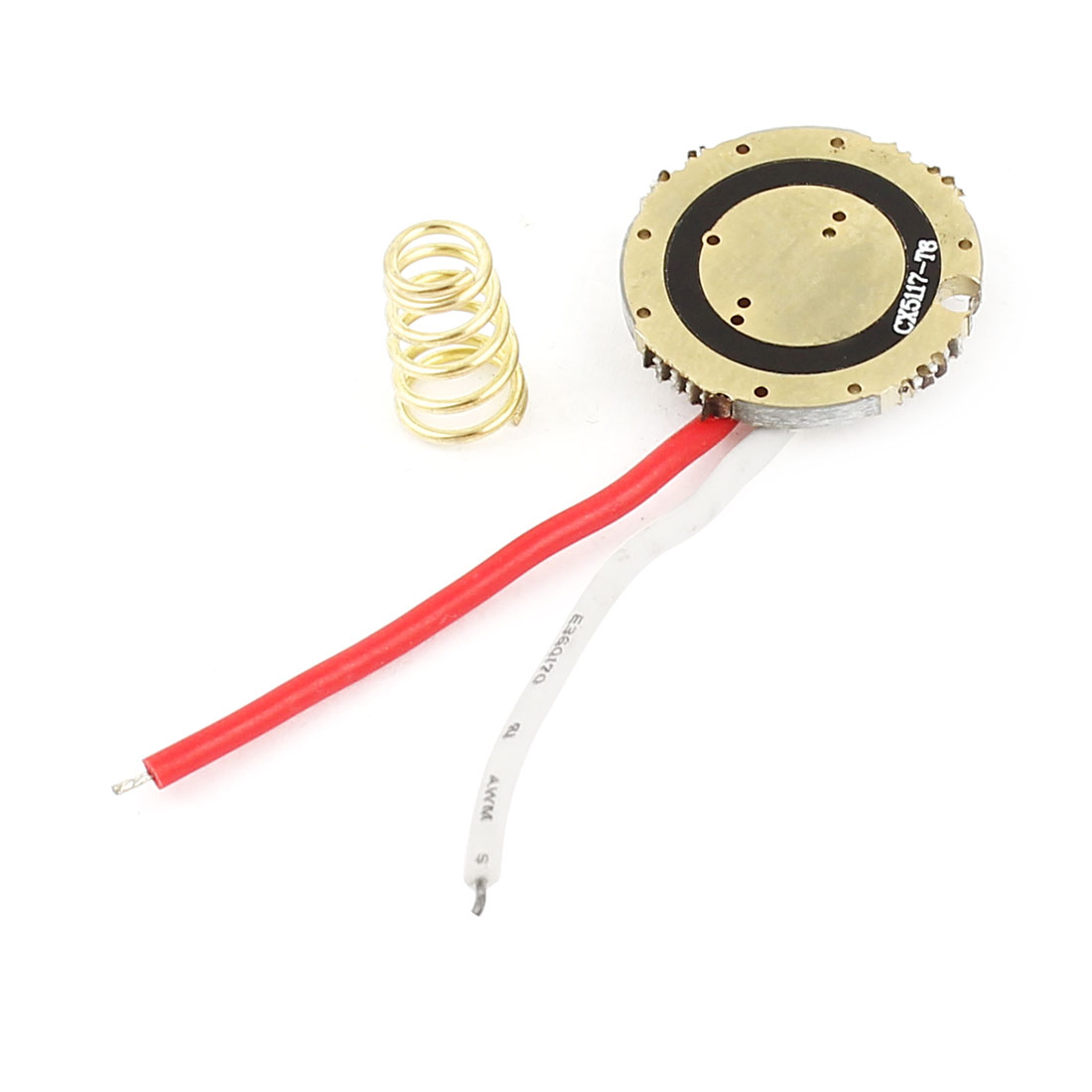 DIY Flashlight Torch 2 Wires 5-Mode T6 LED Driver Circuit Board 17mm Dia