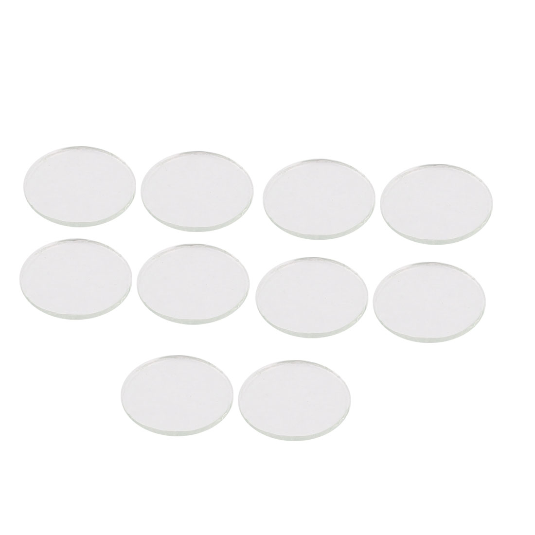 10 Pcs 20mm Diameter 1.4mm Thickness Plastic Glass Lens for S5 LED Flashlight