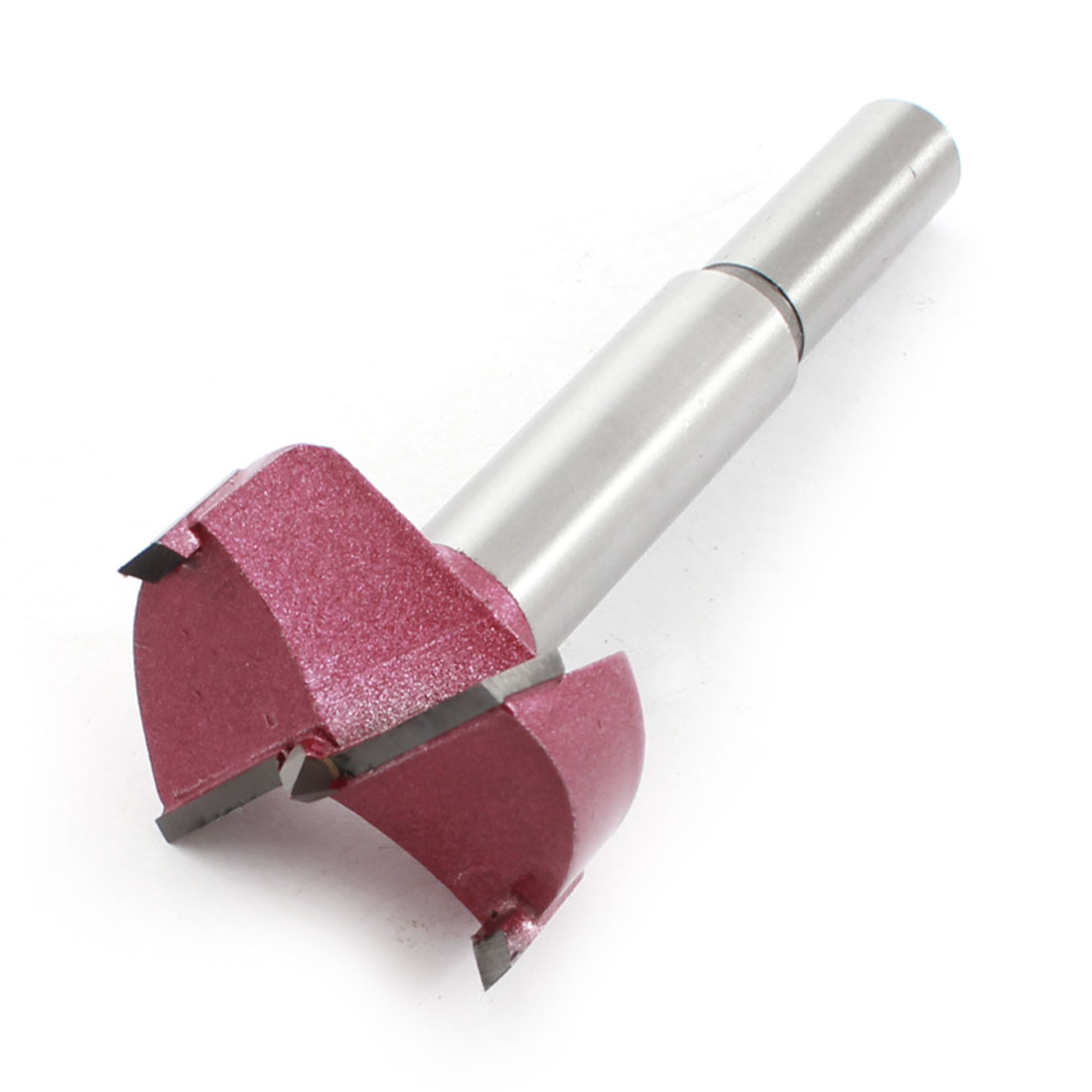 Burgundy Silver Tone 35mm Dia Carbide Tipped Alloy Hinge Boring Bit