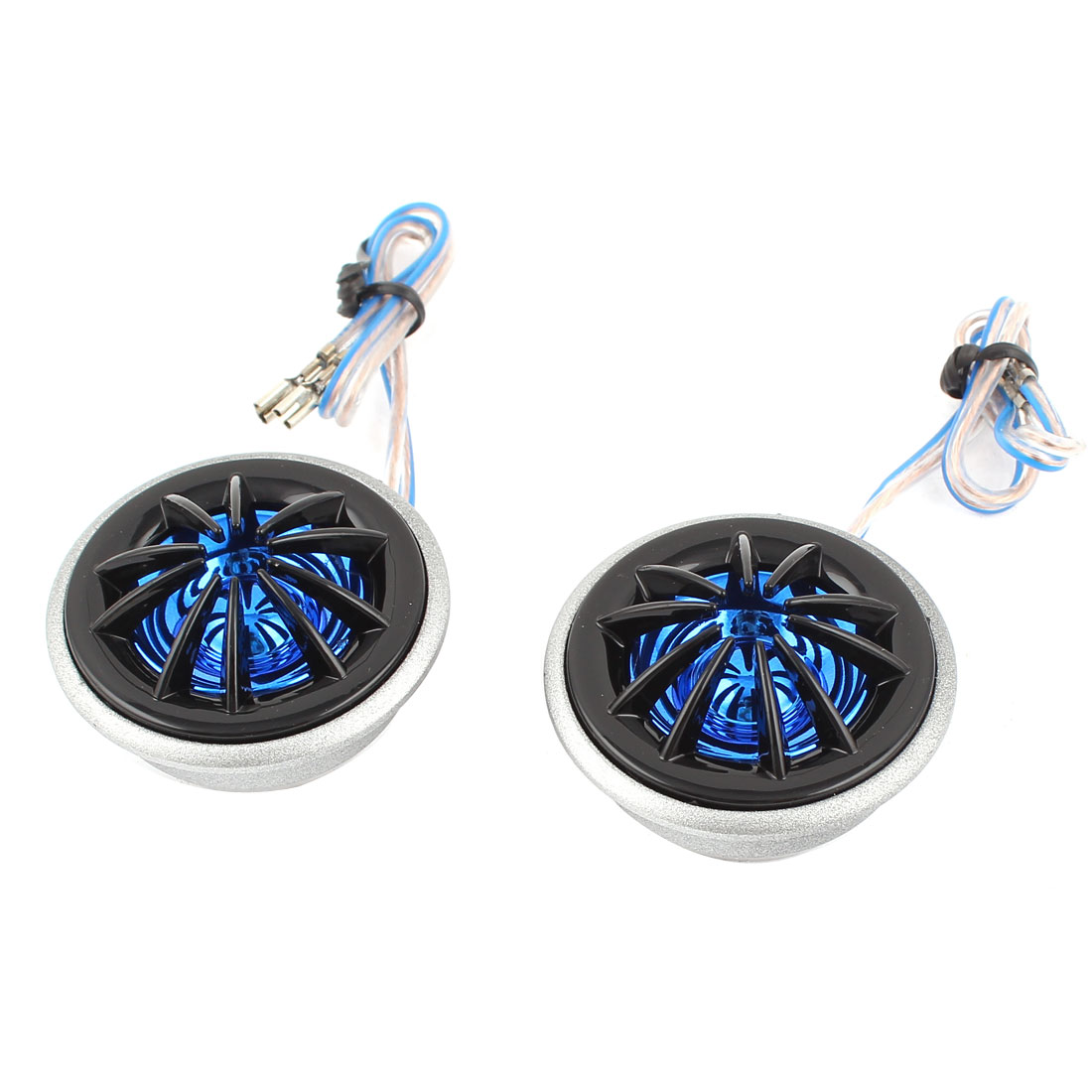 2 Pcs 130W 4 Ohm Stereo Car Audio Component Speaker Dome Tweeters