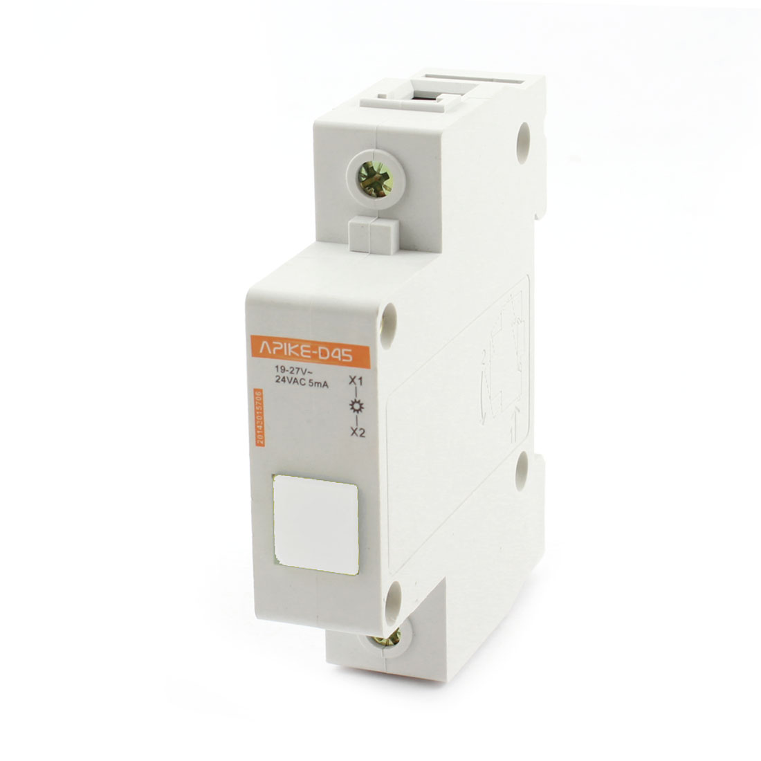 AC 110V 5mA White LED Modular Electrical Power Signal Indicator Light Lamp
