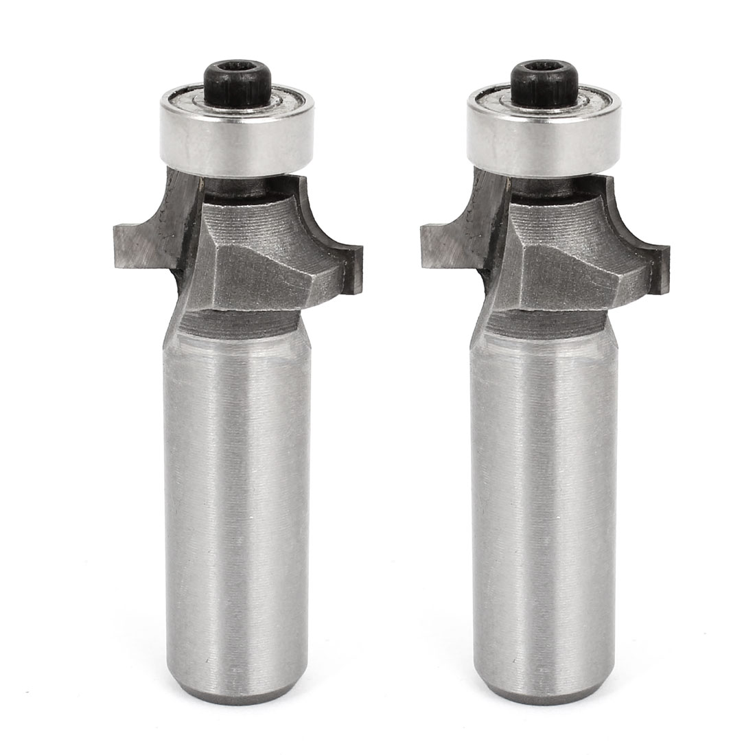 "2 Pcs Woodworking Corner Rounding Round Over Router Bit Tool 1/2"" x 5/16"""