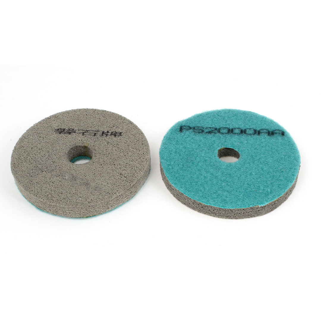 2 Pcs Marble Tile Concrete Stone Dry Diamond Polishing Pad Disk 2000 Grit