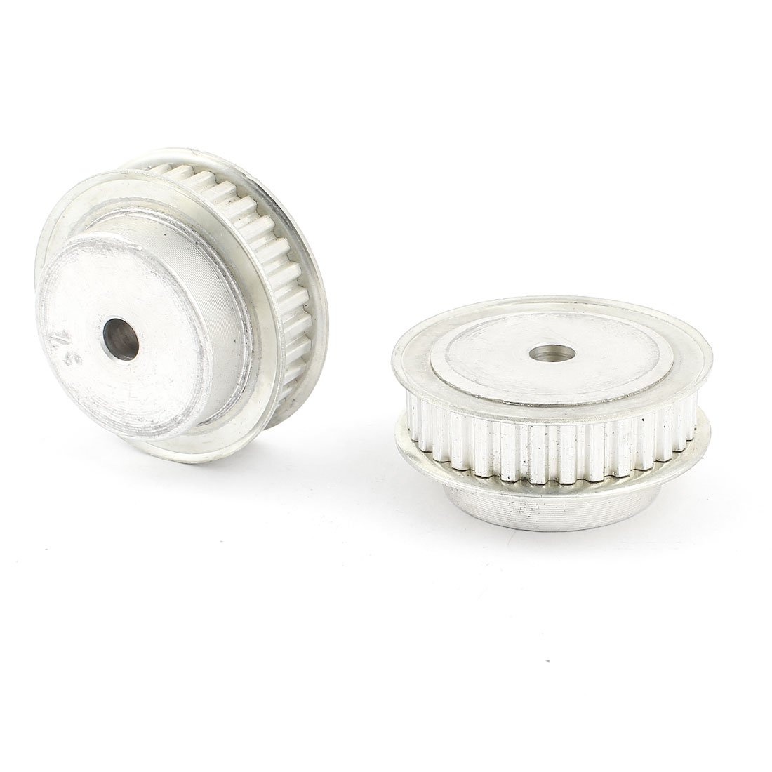 2 Pcs Stainless Steel XL Type 32T 32 Teeth 8mm Diameter Bore Timing Belt Pulley