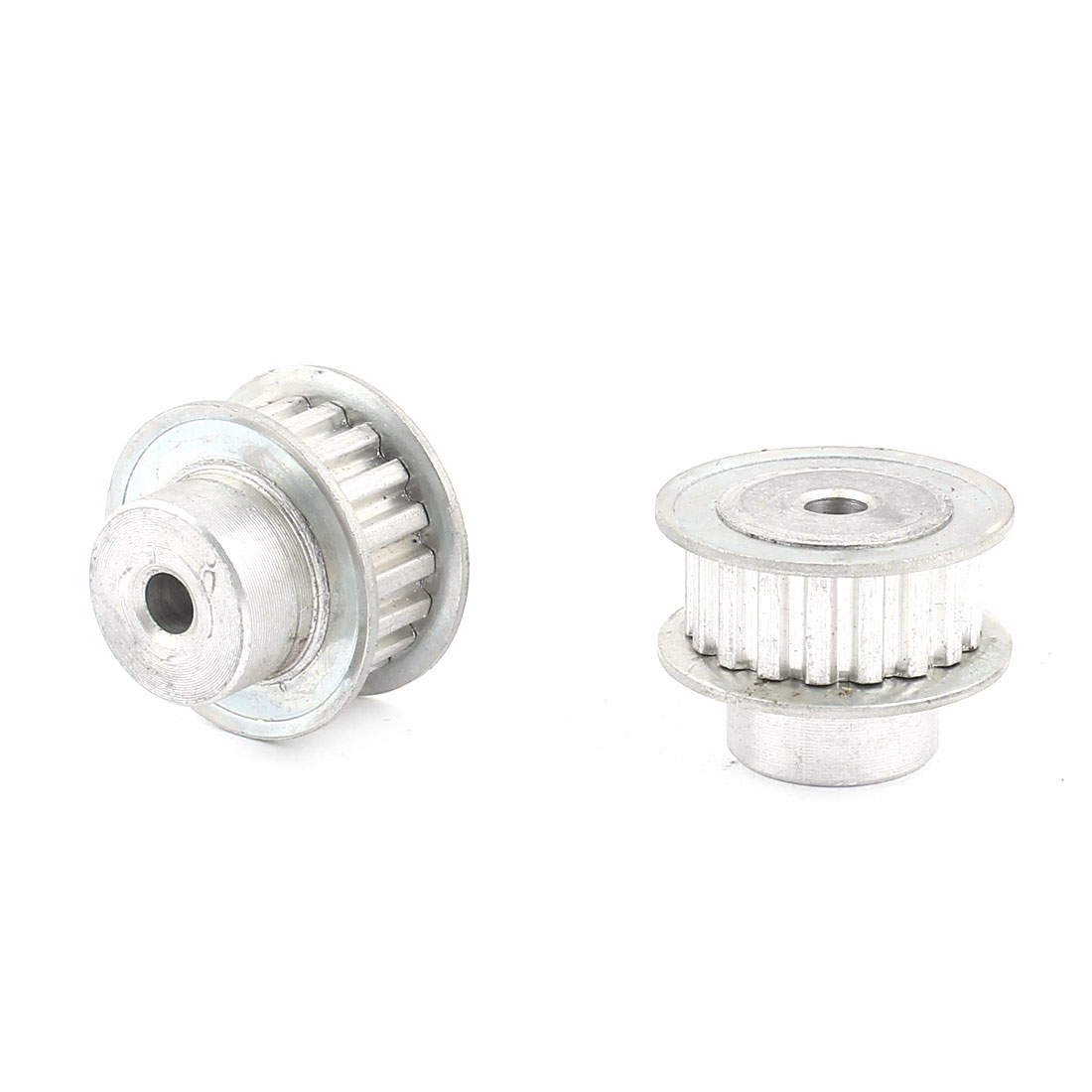 2 Pcs Stainless Steel XL Type 18T 18 Teeth 6mm Diameter Bore Timing Belt Pulley