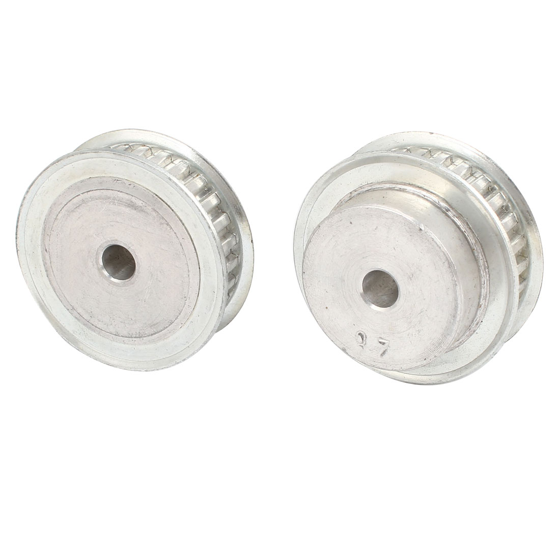 2 Pcs Stainless Steel XL Type 28T 6mm Pitch 8mm Diameter Bore Timing Belt Pulley