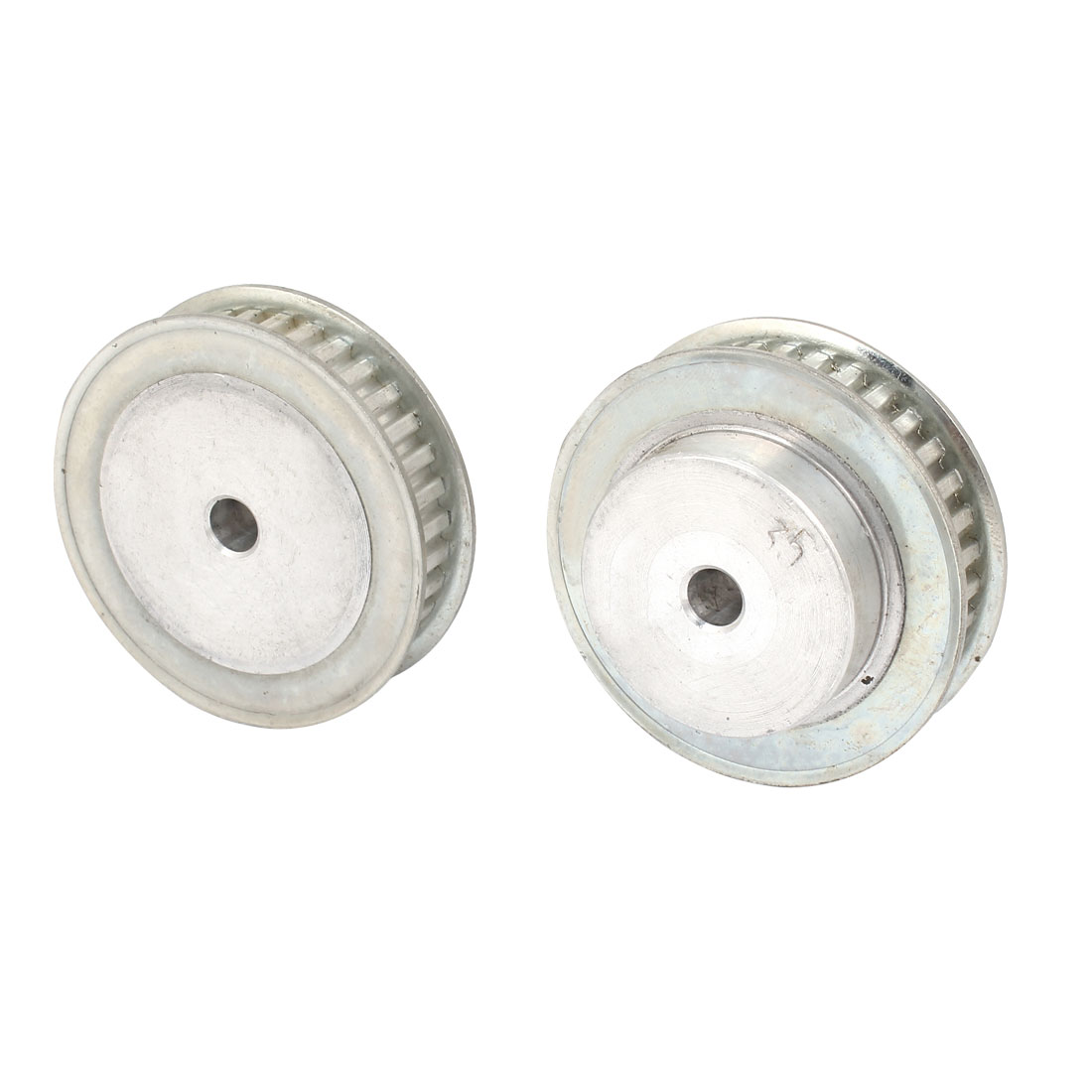 2 Pcs Stainless Steel XL Type 35T 6mm Pitch 8mm Diameter Bore Timing Belt Pulley