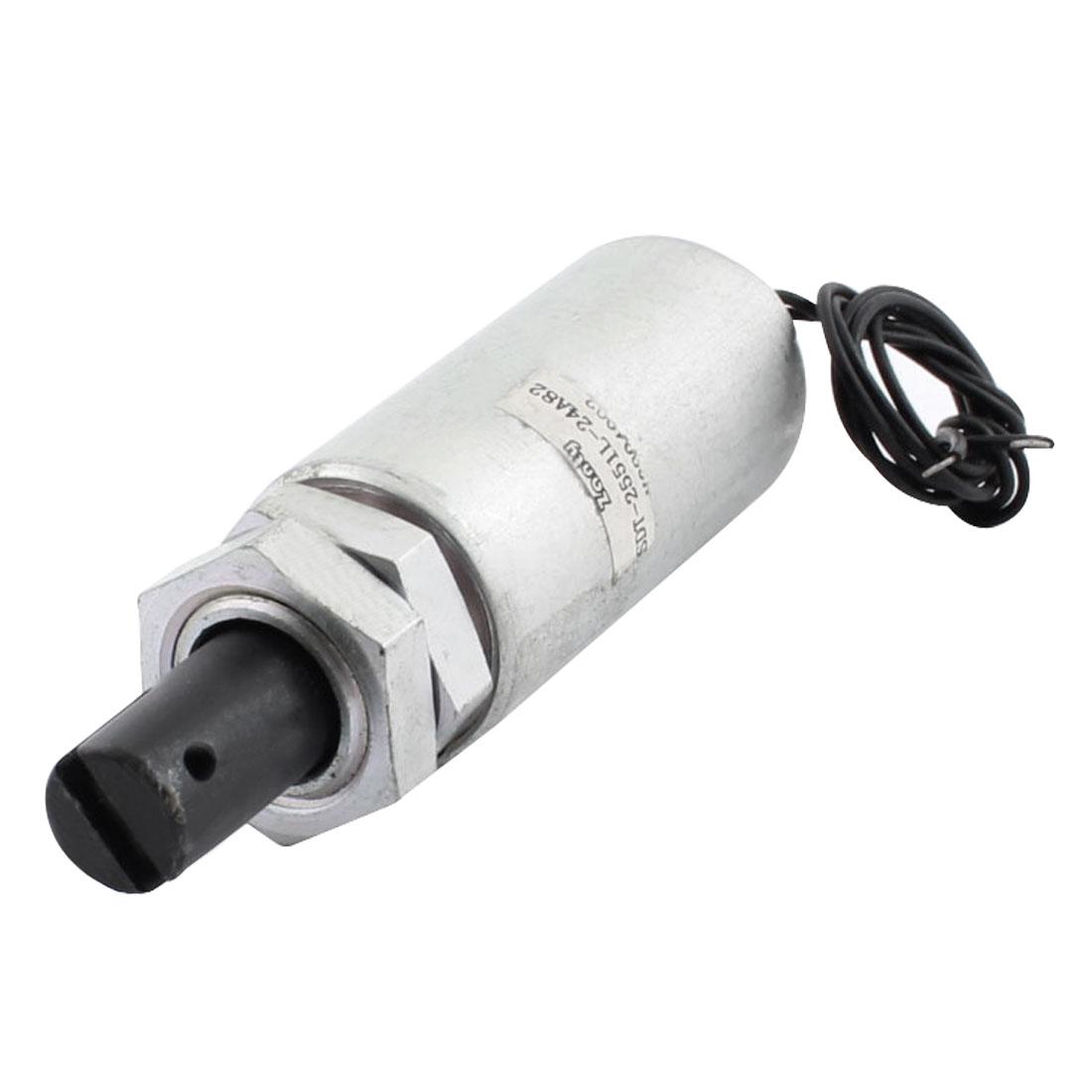 Metal Shell DC 24V 500g/50mm Pull Electric Magnet Electromagnet Solenoid