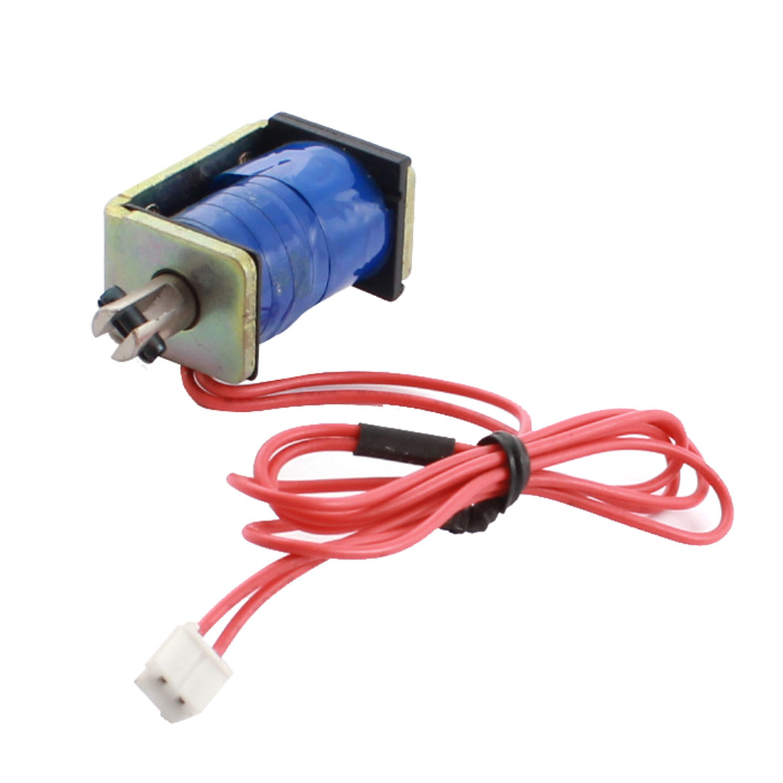 Replacement DC 12V 13.8W 500g Force 5mm Stroke Pull Solenoid Electromagnet