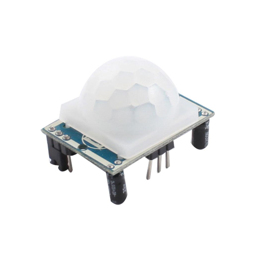DC 5-20V Pyroelectric Infrared PIR Motion Sensor Detector Module Board HC-SR501