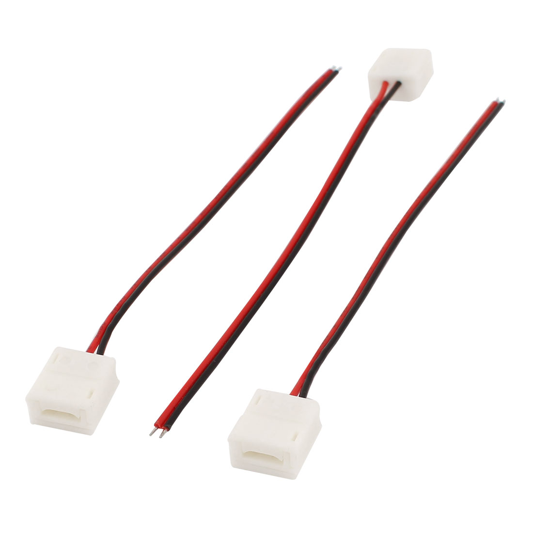 3pcs 15cm Long 2 Pole Terminal Wire Connector for 3528 RGB LED Strip