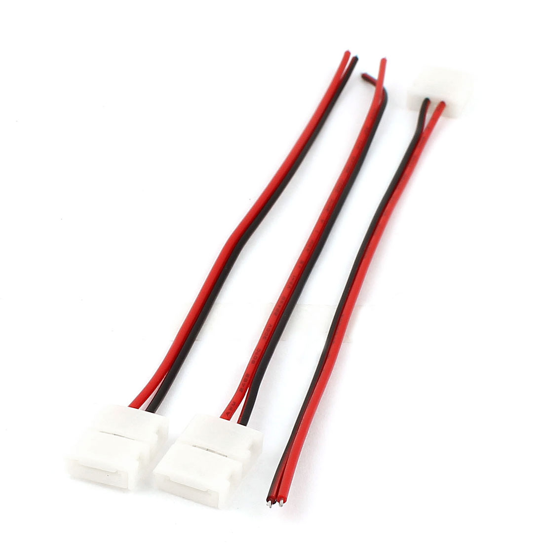 5pcs 15cm Long 10mm Width 2 Pole Wire Connector for 5050 LED Strip
