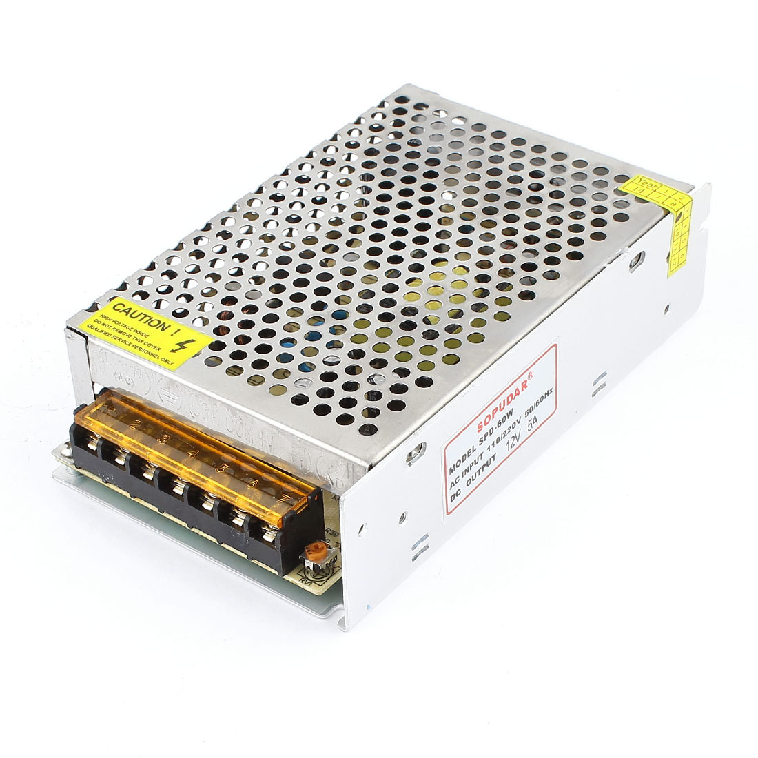 SPD-60W AC 110V/220V to DC 12V 5A LED Switching Power Supply
