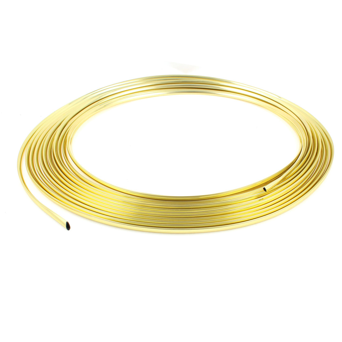 Car Window Steering DIY Moulding Trim Decoration Strip Gold Tone 15M x 7MM