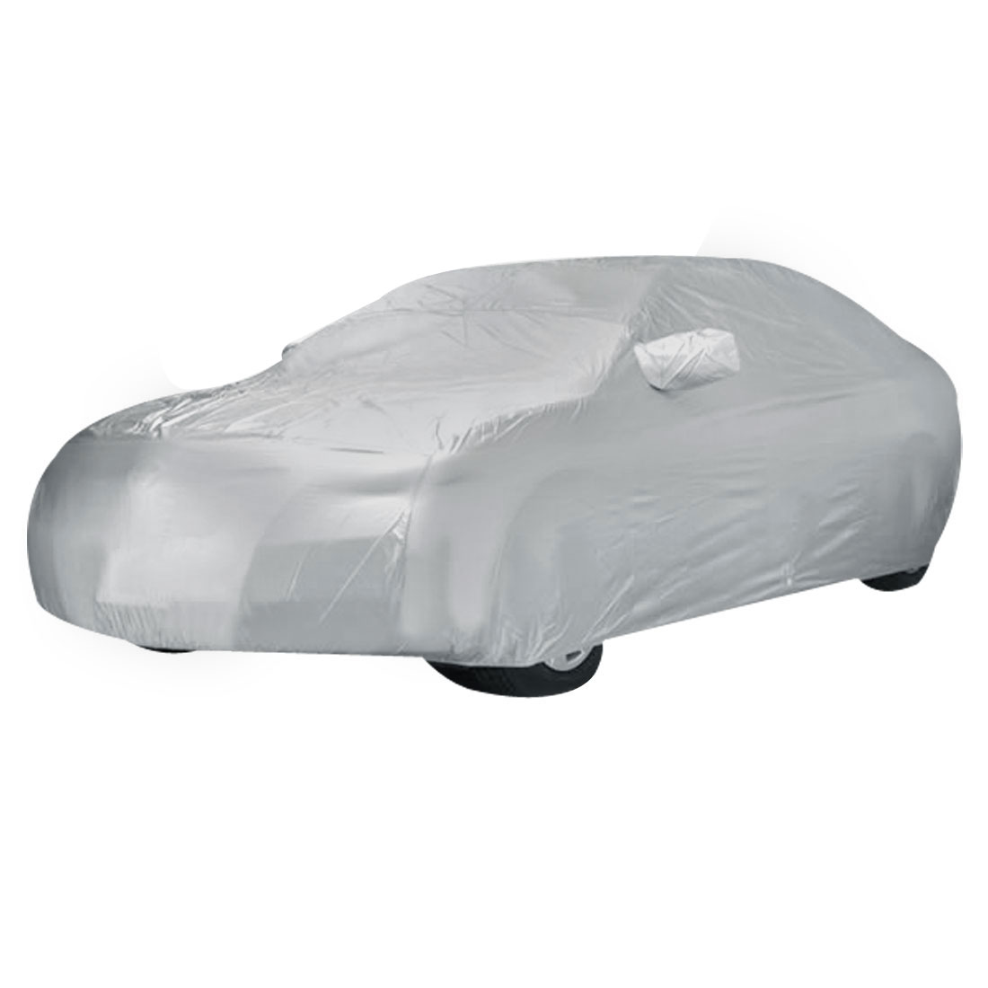 Gray Non-woven Anti-dust Sun Rain Resistant Car Cover Protector for GAC-Toyota