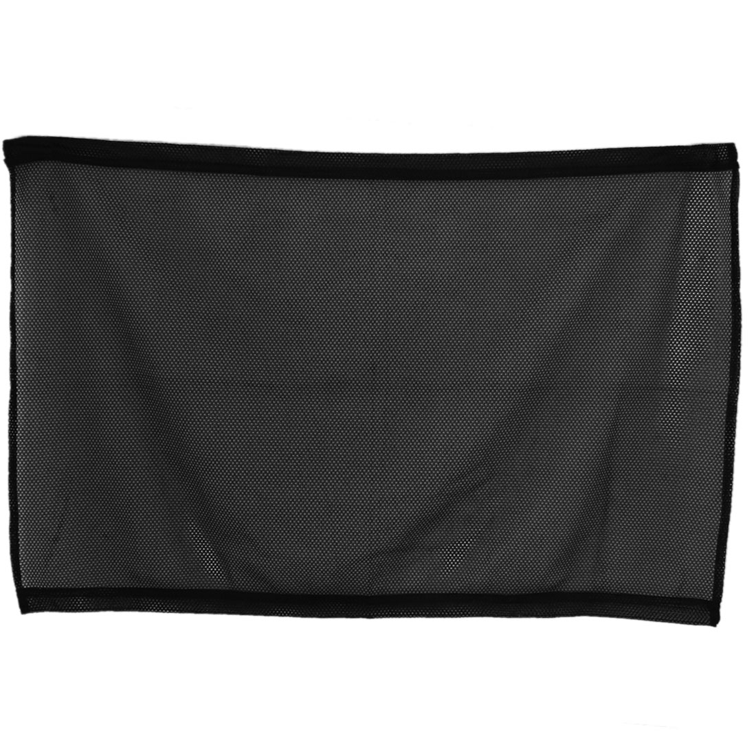 48cm x 70cm Car Side Window Shade Sunshade Meshy Cover Curtain Black 2 Pcs