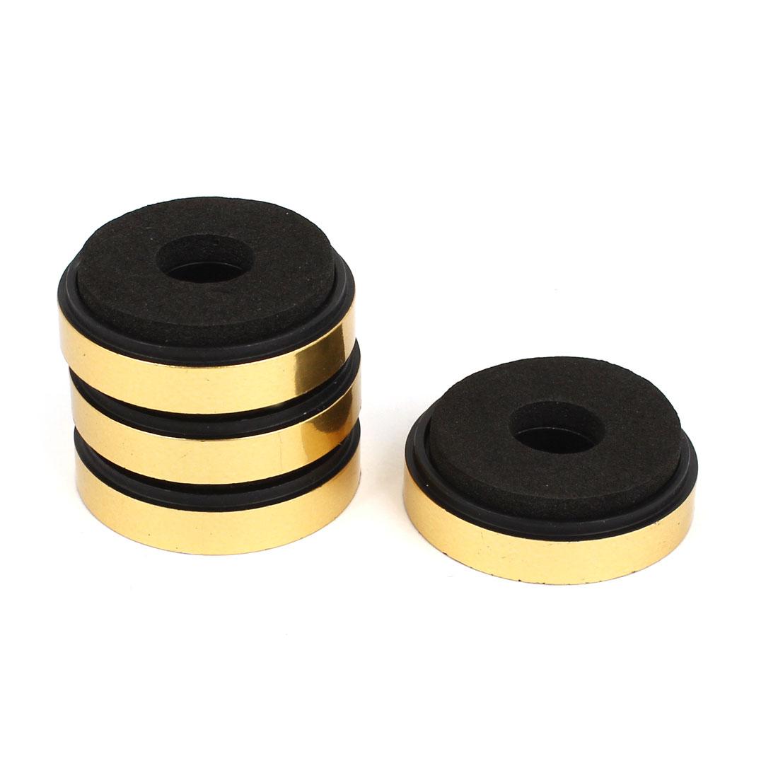 4 Pcs Anti Vibration Audio Amplifier Isolation Feet Stand Pad 3cm x 0.9cm