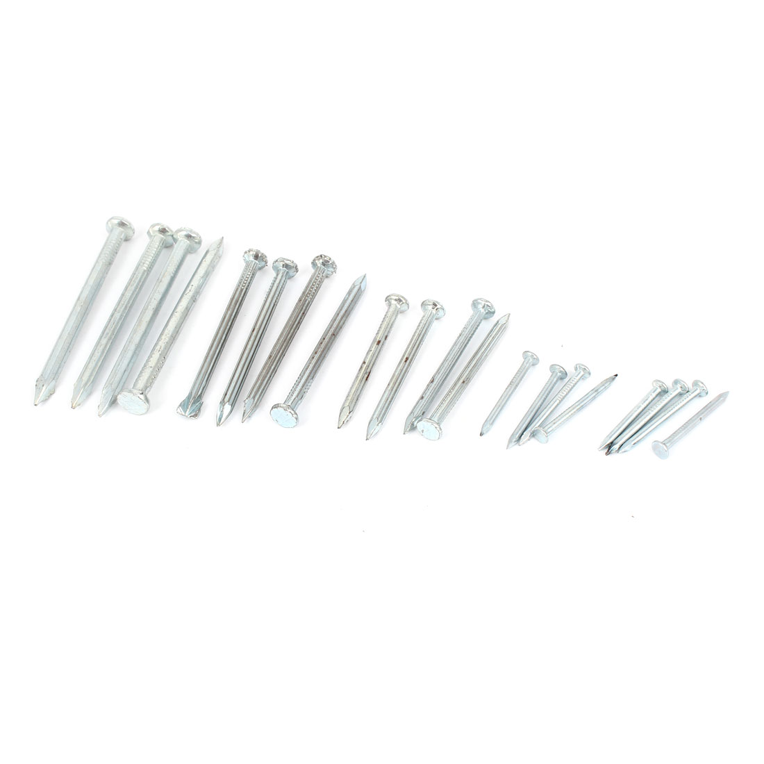 Hardware Fittings 60mm 50mm 40mm 25mm Long Iron Nails 20 Pcs