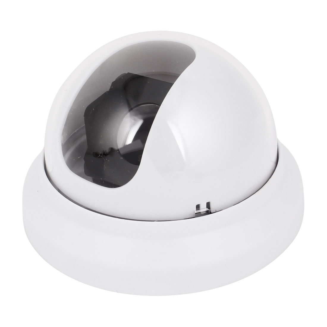 White Gray Plastic CCTV Security Dome Camera Housing Case Shell Cover