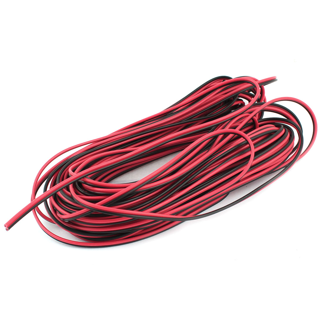 20M 33Ft 33Feet Electrical Power Cable Wire Balck Red