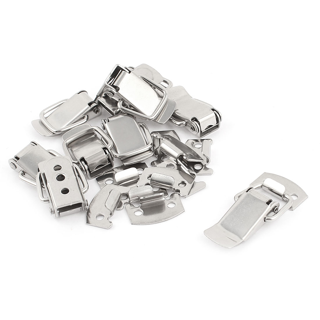 10 Pcs Toolbox Case Hardware 40mm Long Stainless Steel Toggle Latch Catch
