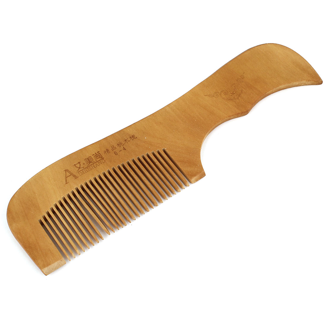 Men Women Hairdressing Makeup Tool Wooden Wide Toothed Hair Comb