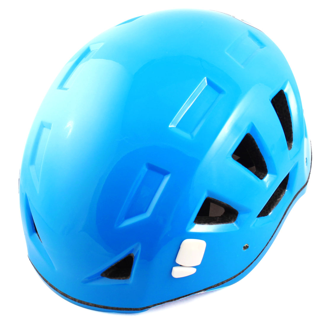 Adults Hollow Hole Design Mountaineering Sports Protective Helmet Blue