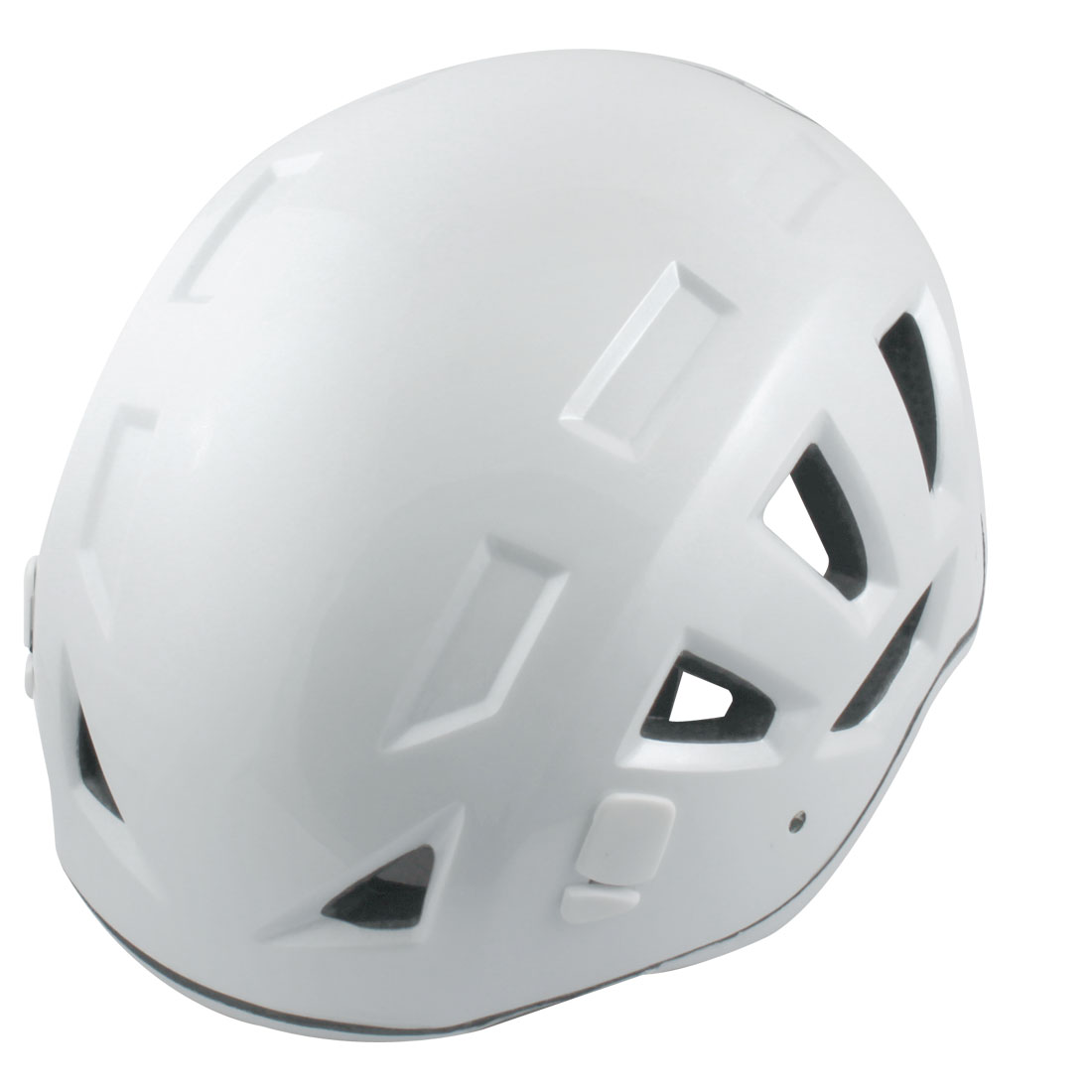 Adults Hollow Hole Design Mountaineering Sports Protective Helmet White
