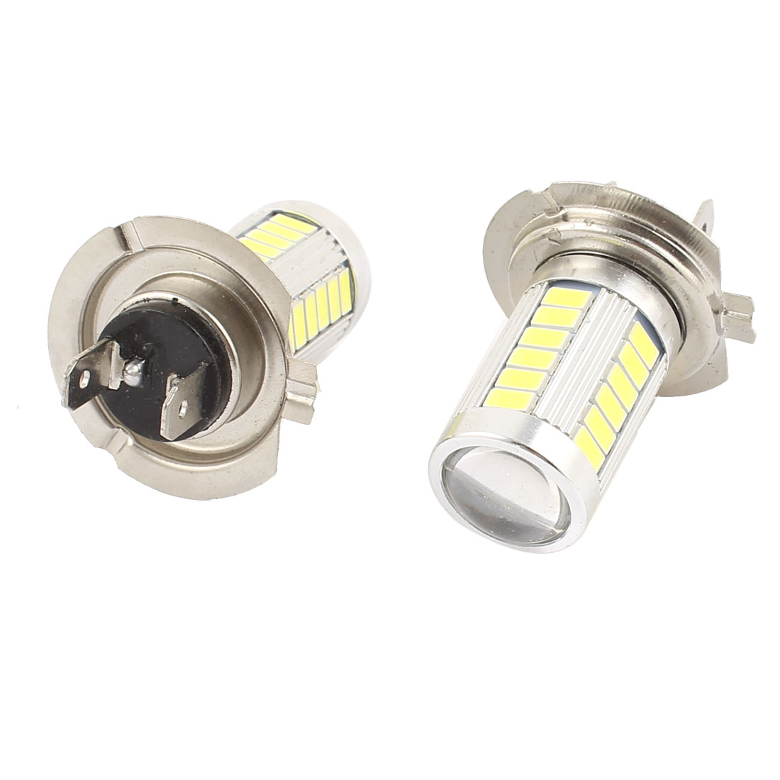 Car White LED 33 SMD 5630 Bulbs H7 Fog Daytime Light Lamp 2 Pcs