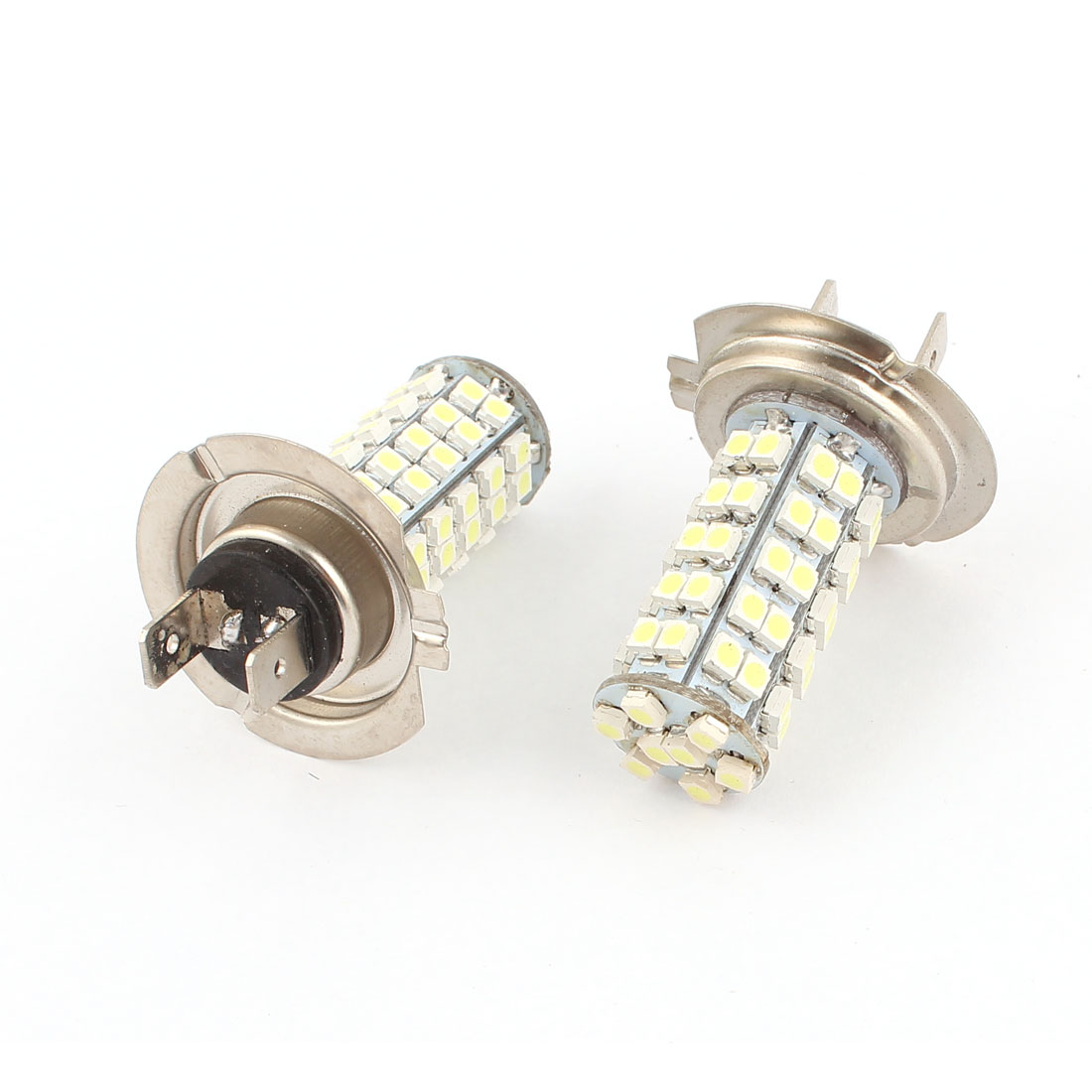 Car White LED 70 SMD 3528 Bulbs H7 Fog Daytime Light Lamp 2 Pcs