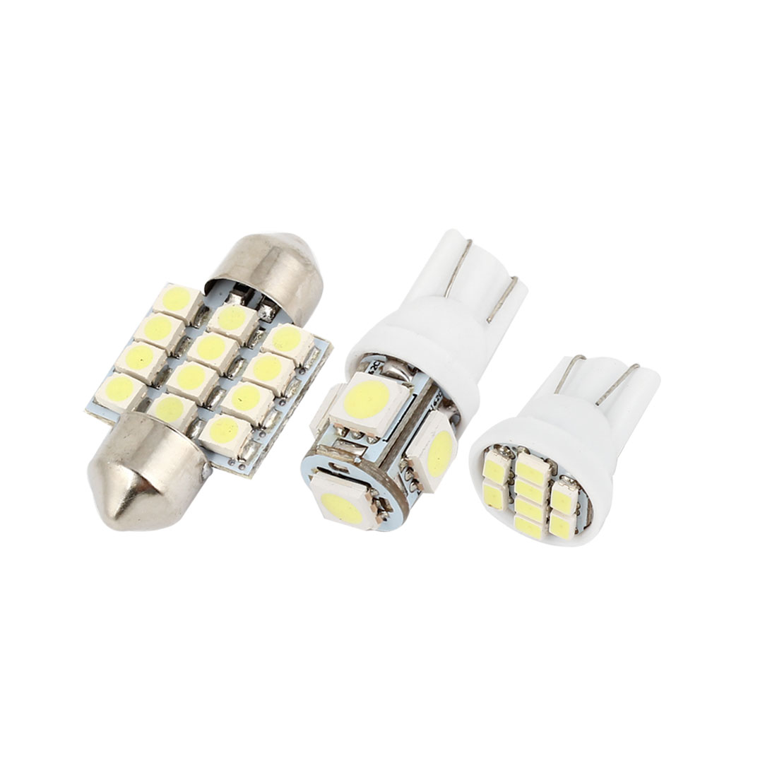 10 Pcs Dome Map White LED Lights Interior Package Kit For Honda CR-Z 2011-2012