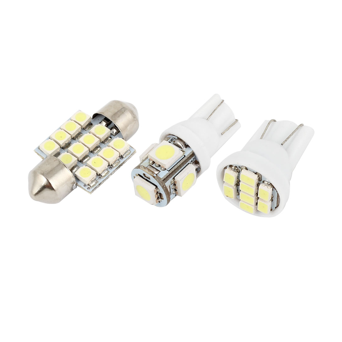 12 Pcs Dome Map White LED Lights Interior Package Kit For Honda Pilot 2006-2008