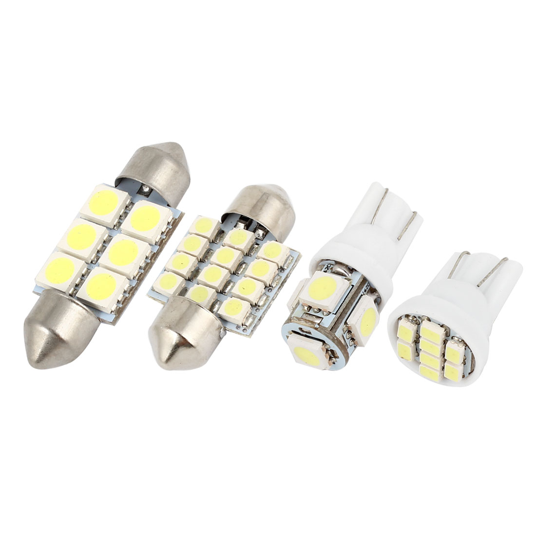 15 Pcs Dome Map White LED Lights Interior Package Kit For Toyota Sienna 1998-2003