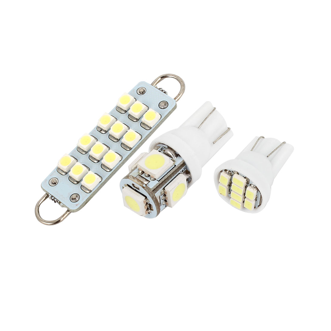 15 Pcs White LED Map Dome Light Bulb Lamp Interior Package Kit For Ford Explorer 2006-2010