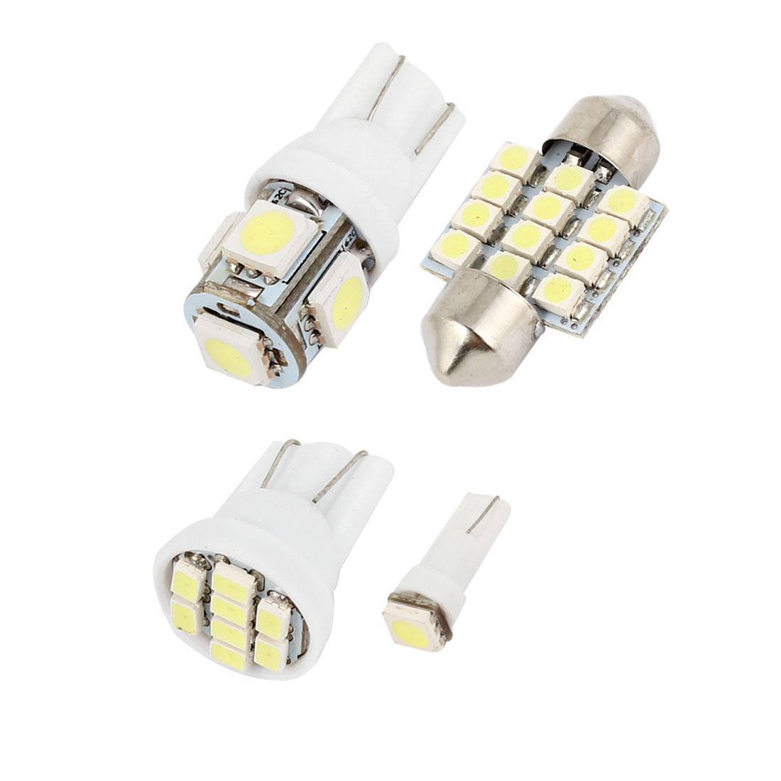 15 Pcs White LED Map Dome Light Bulb Lamp Interior Package Kit For Toyota Camry 2007-2011