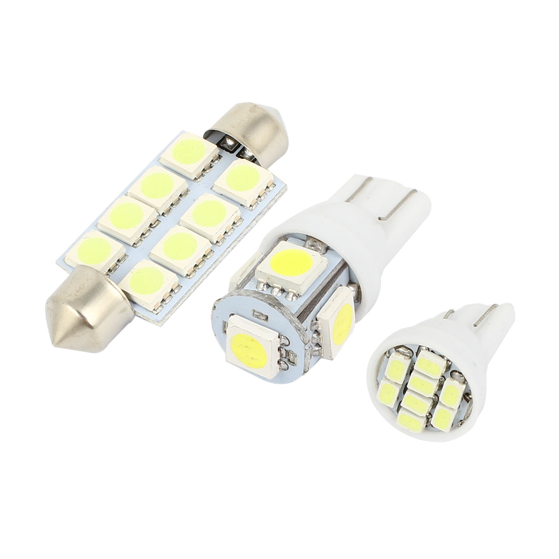 16PCS White LED Map Dome Light Bulb Lamp Interior Package Kit For Chevy Tahoe 2000-2006