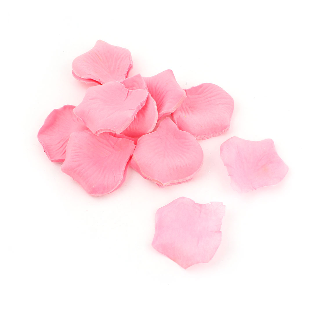200 Pcs Wedding Festival House Accent Artificial Fabric Rose Petals Pink
