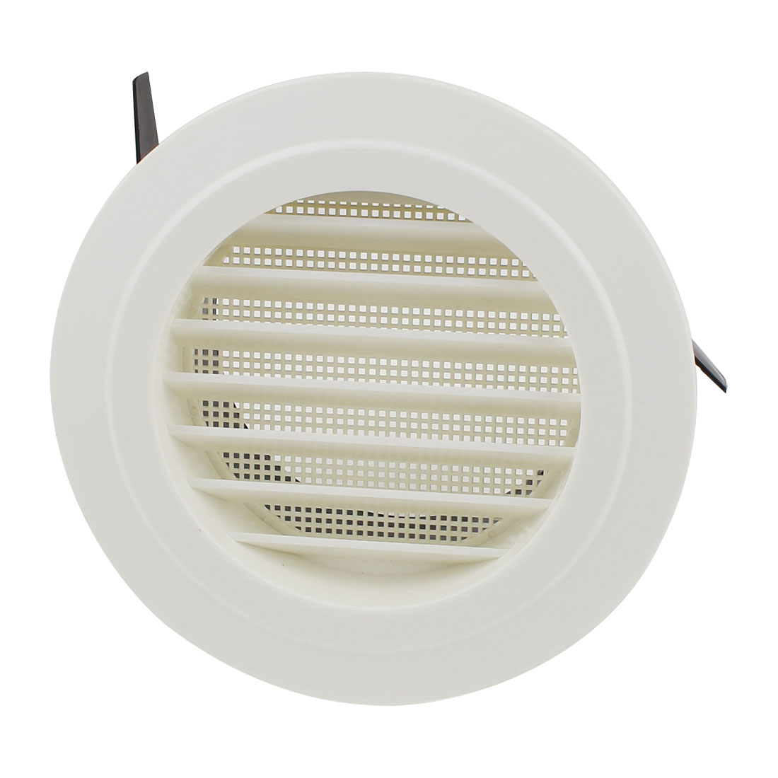 Kitchen Plastic 125mm Outer Dia Oblique Air Grilles Vent Valve