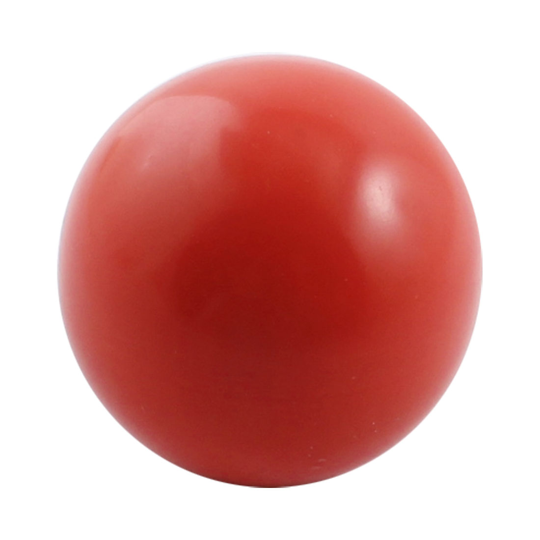Red Arcade Game Machine Threaded Ball Handle Grip Knob 40mm x 12mm
