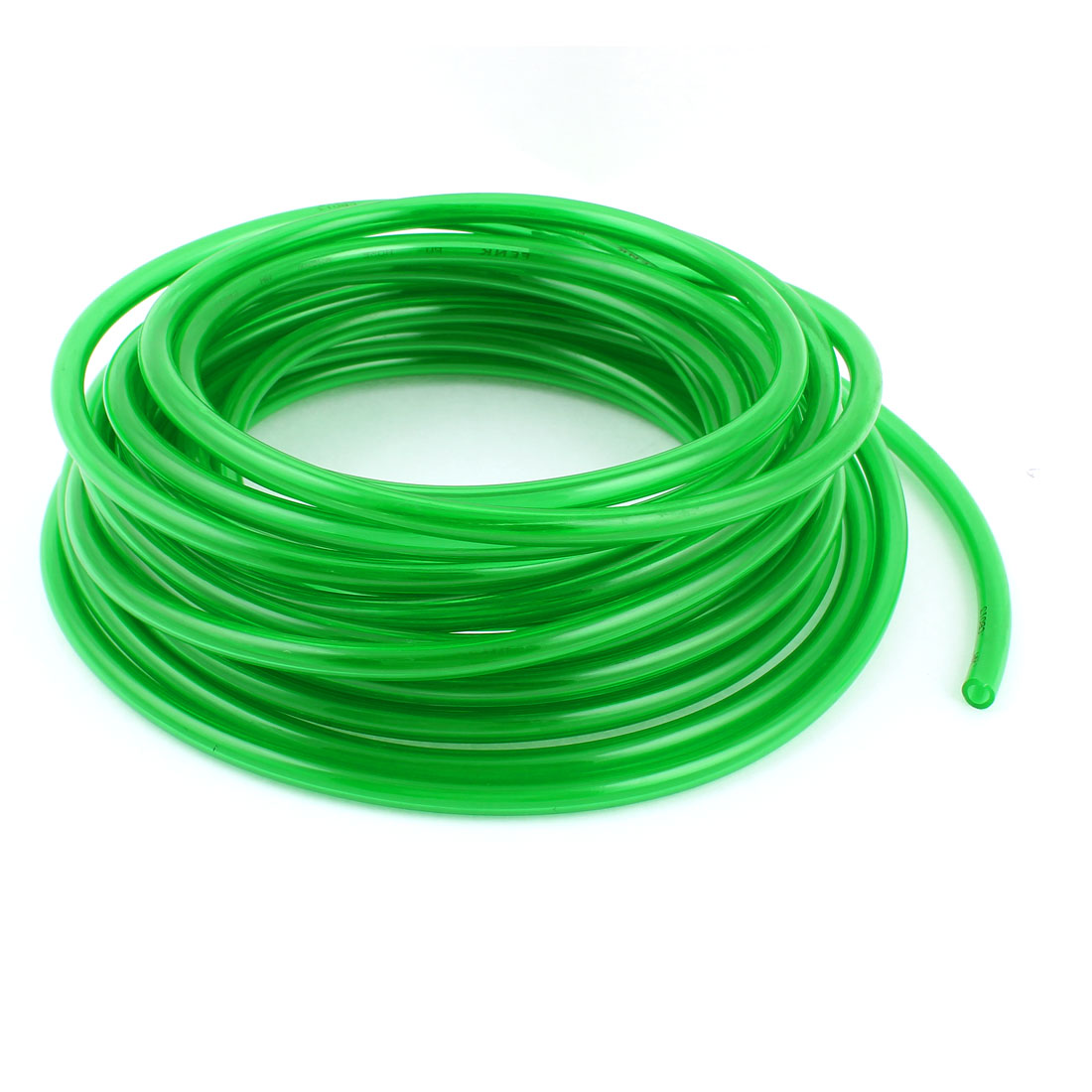 10m 33ft 6mmx4mm Pneumatic Polyurethane PU Hose Tube Pipe Clear Green