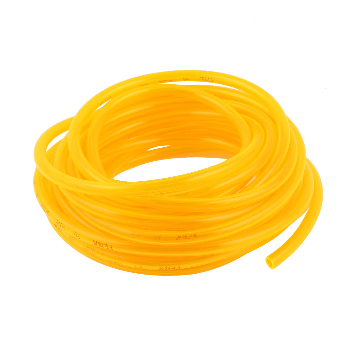 10m 33ft 10mmx6.5mm Pneumatic Polyurethane PU Hose Tube Pipe Clear Yellow