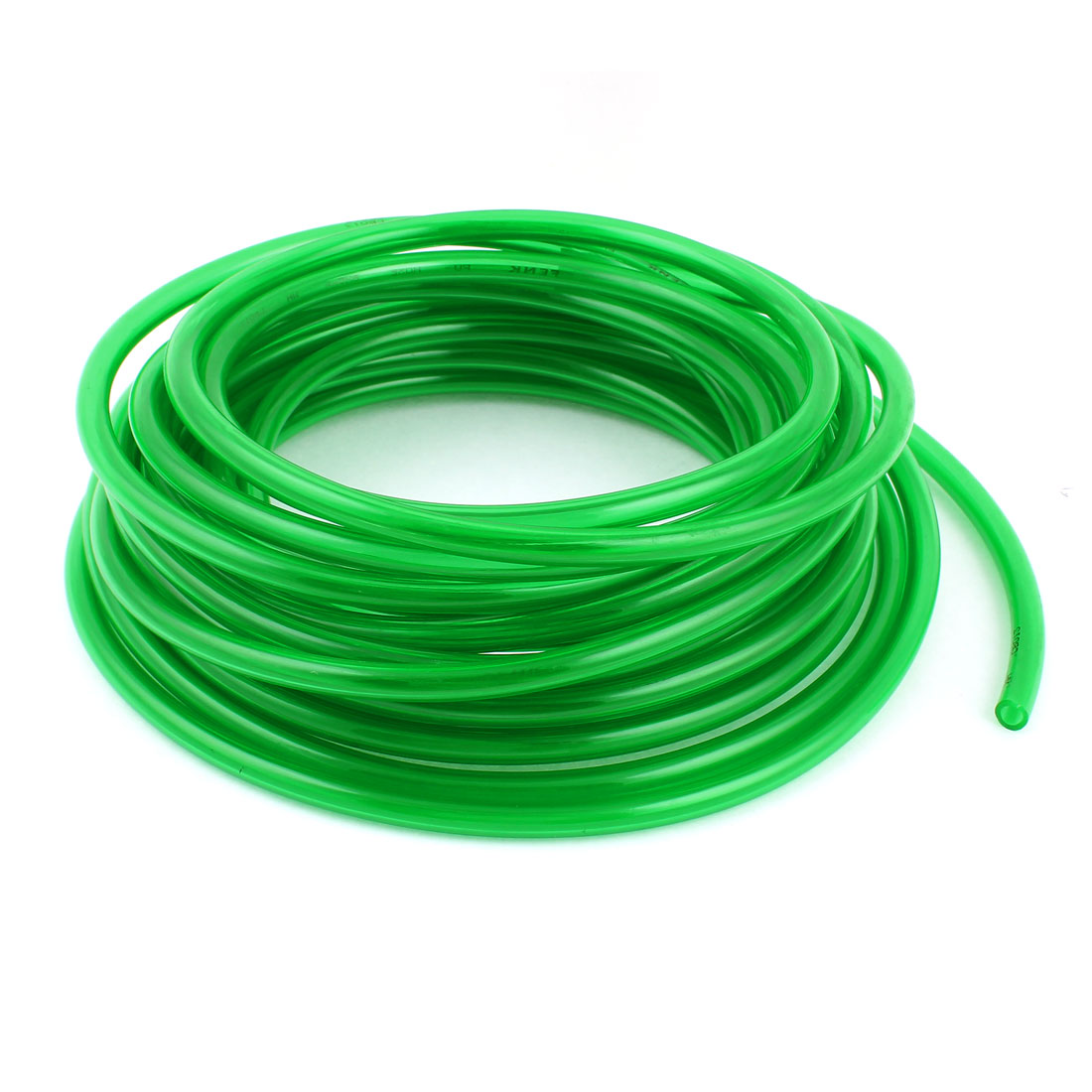 10m 33ft 10mmx6.5mm Pneumatic Polyurethane PU Hose Tube Pipe Clear Green