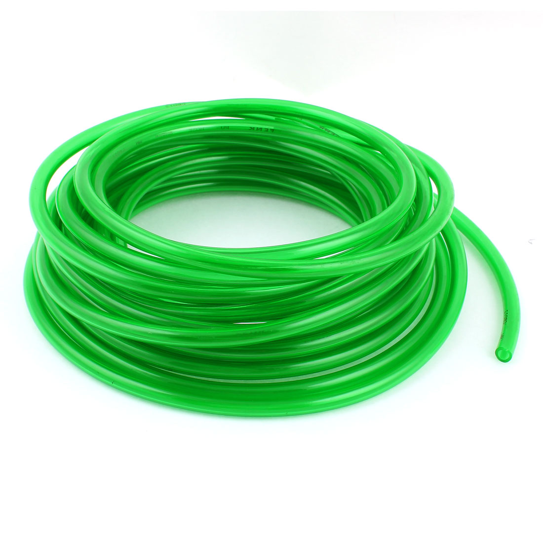 10m 33ft 8mmx5mm Pneumatic Polyurethane PU Hose Tube Pipe Clear Green